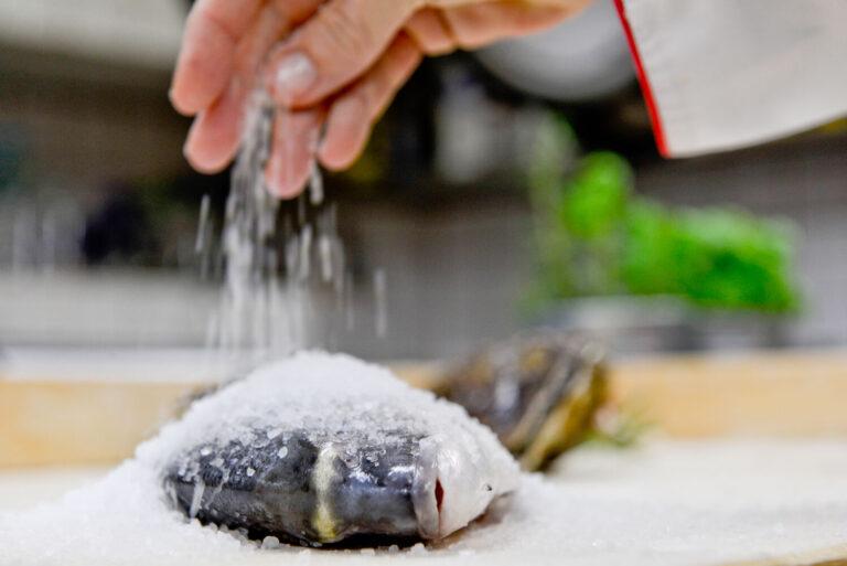 ryba w hotelu koloseum