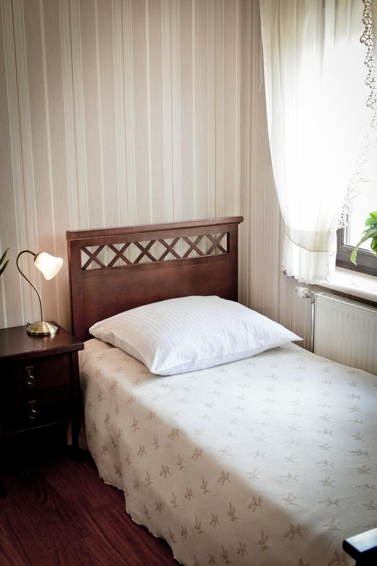 pokój jednoosobowy hotel koloseum